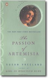 The Passion of Artemisia by Susan Vreeland